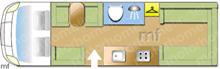 Swift SWIFT KON-TIKI 649 2012 Motorhome layout